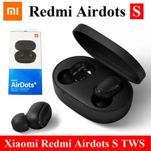 2020 Original Xiaomi Redmi Airdots S TWS Bluetooth 5.0 Earphone Stereo Bass With Mic Handsfree Earbuds Noise reduction TWSEJ05LS