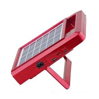 Multifunction Hand Radio Bluetooth AM/FM Outdoor TF Card LED Flashlight Emergency Solar Power Energy FM Portable
