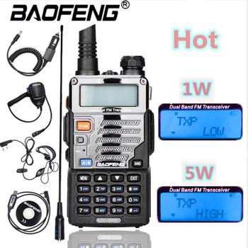 Baofeng UV-5RE Voor Politie walkie-talkie skaner radiowy dwuzakresowy Cb Ham nadajnik-odbiornik radiowy Uhf 400-520 Mhz i Vhf 136-174 Mhz tanie i dobre opinie oppxun 1800mAh CN (pochodzenie) IP45 Przenośne 3 km-5 km 5 w-10 w NONE VHF 136-174MHz e UHF 400-520MHz 100x52x32mm Z tworzywa sztucznego