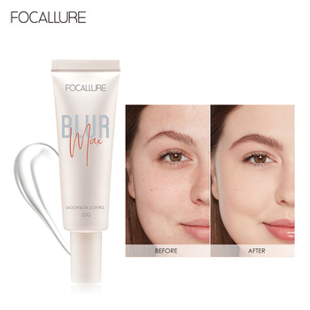 FOCALLURE Pore-Blurring Primer Smooth Skin Surface Oil-control Facial Makeup Face Base Clear Gel Primer pore primer base face makeup base serum primer liquid makeup shrink pores brighten smooth skin invisible pores concealer cosmeti