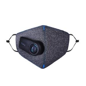 Image 5 - Originele Puur Anti Vervuiling Air Gezichtsmasker Met PM2.5 550Mah Battreies Oplaadbare Filter Van Youpin