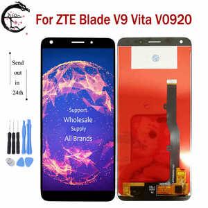 """Image 1 - 5.45 """"חדש LCD עבור ZTE להב V9 Vita V0920 LCD תצוגת מסך מגע חיישן Digitizer עצרת החלפה עבור V9Vita תצוגה מלאה"""