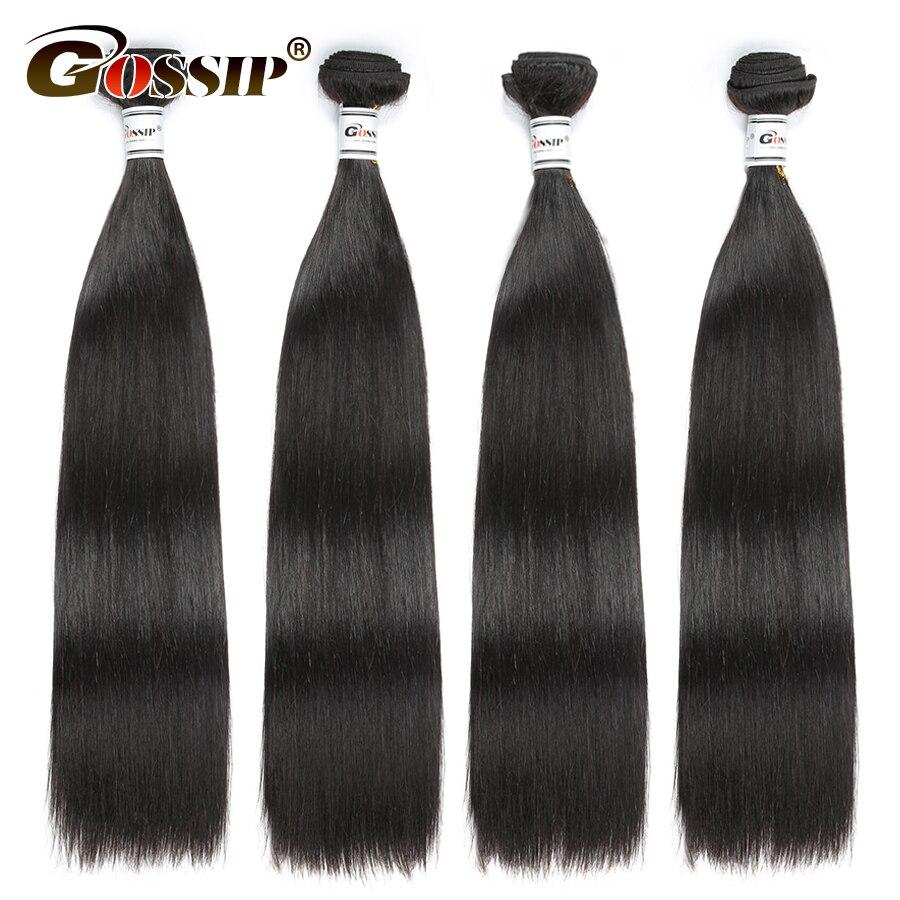 Non Remy Straight Hair Bundles Malaysian Hair Extension 100% Human Hair Bundles Deal 8-28