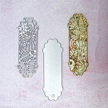 2 шт винтажная элегантная вкладка метка металлические режущие