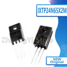 10 pçs/lote TO-220F IXTP24N65X2M Novo Local 650V 8.5A