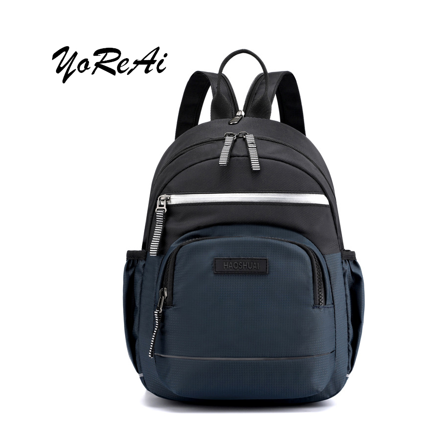 YoReAi New Outdoor Sports Men's Chest Bag Multifunctional Travel Small Backpack Fashion Leisure Nylon Messenger Crossbody Bags