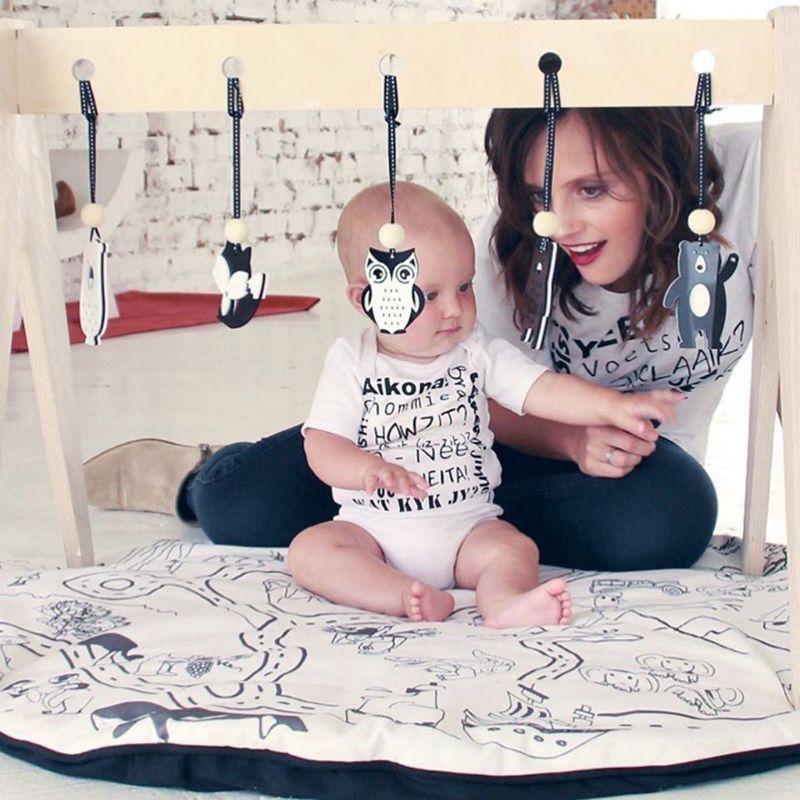 Baby Play Gym Pendants Children Room Decor Nordic Baby Fitness Rack Stroller Hanging Pendants | Happy Baby Mama