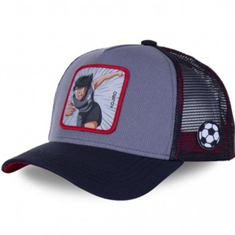 New Brand Anime Dragon Ball Captain Tsubasa Snapback Cotton Baseball Cap Men Women Hip Hop Dad Mesh Hat Trucker Hat Dropshipping