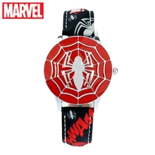 Marvel Avengers Amazing Ultimate Spider Man Teen Boy Hero Dream Pupil Cool Watches Child Disney Student Clock Birthday Gift New marvel universe ultimate spider man