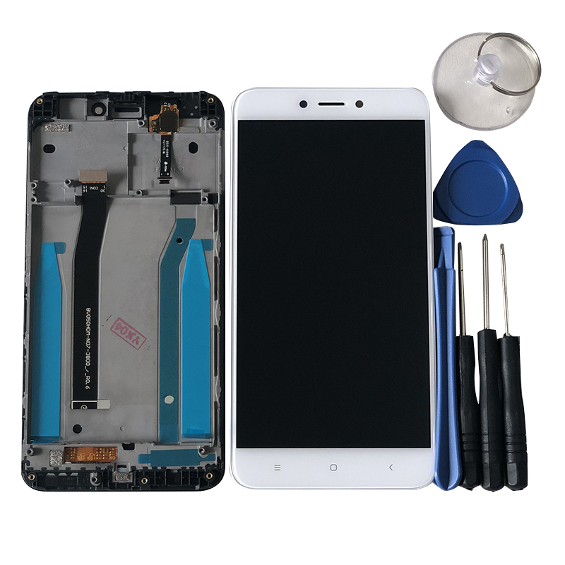 """H595ce51f24794564933244674408c09fG Original M&Sen For 5.0"""" Xiaomi Redmi 4X LCD Screen Display+Touch Panel Digitizer With Frame For Redmi 4X Display Support 10Touch"""