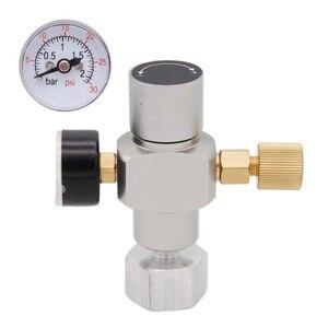 Image 4 - 2 в 1 Sodastream CO2 мини газовый регулятор CO2 зарядное устройство TR21 * 4 0 30 PSI Keg зарядное устройство для европейского пивного Kegerator