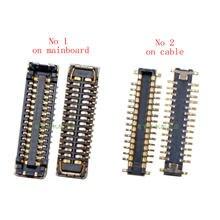 2 pçs/lote Coopart USB doca de Carregamento Porto conector FPC substituição para Oneplus 5 5T 1 + 5 1 + 5T A5000 A5010