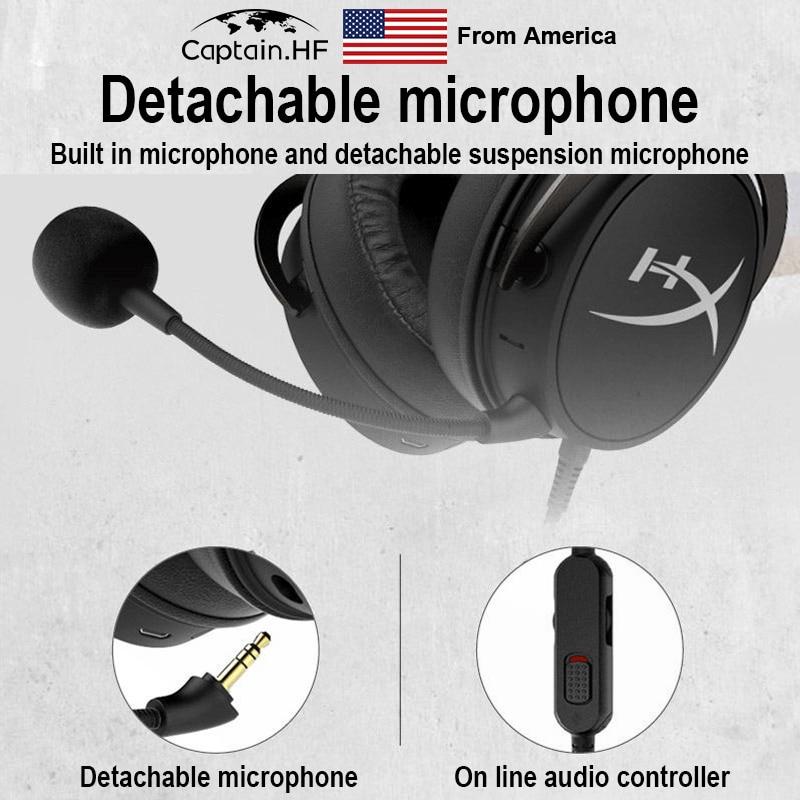 Нас капитан с Bluetooth гипер х Mix игры облако и идти наушники, время 20ч игры, профессиональный игровой гарнитуры Привет-Res аудио