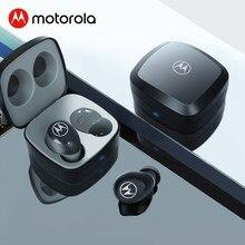 Motorola-auriculares inalámbricos con Bluetooth 5, dispositivo de audio estéreo, 14H de tiempo de reproducción, resistente al agua, Control táctil, asistente de voz inteligente
