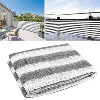 Açık yaz balkon koruması gizlilik güneşlik Net önlemek düşen çocuk koruma ağı bahçe gölgelik file güneş gölge bahçe için