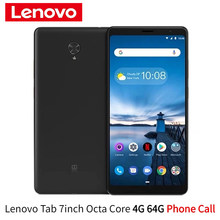 Global Firmware Lenovo tab V7 Phone Call Tablet 7 inch LTE version 4G 64G Octa core Face Recognition Dual Dolby Speakers Android
