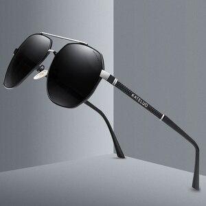 Image 3 - UV 2020 קלאסי Mens צבאי באיכות משקפי שמש מקוטב UV400 שמש משקפיים טייס גברים משקפיים נהיגה 6603