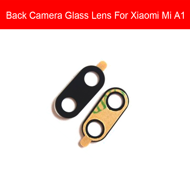 High Quality Back Camera Glass Lens Cover For Xiaomi Mi A1 Rear Camera Glass Lens Protection Repair Replacement Parts