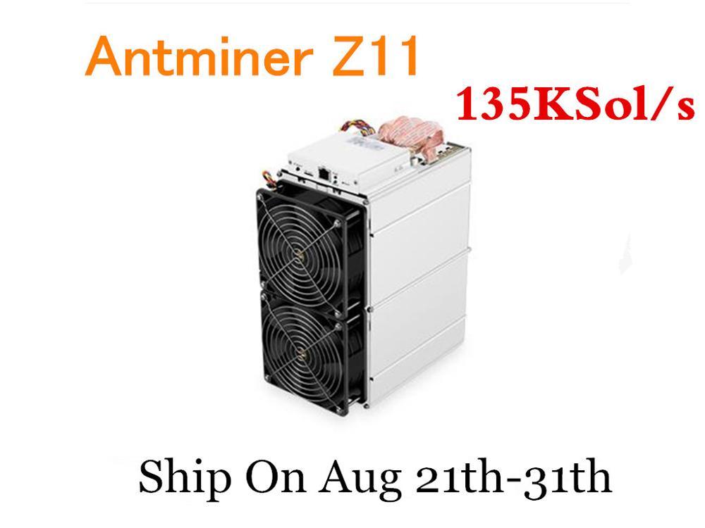 Pre-ordine Equihash Minatore Antminer Z11 135k Sol/s ZCASH Minatore Minerario ZEC ZEN Meglio di Innosilicon a9 Antminer S9 S11 S15 Z9