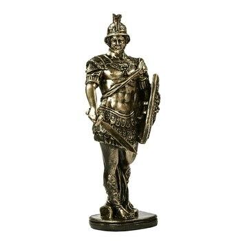 Ancient Rome Soldier Figurine Handmade Resin Swordsman Statue 2