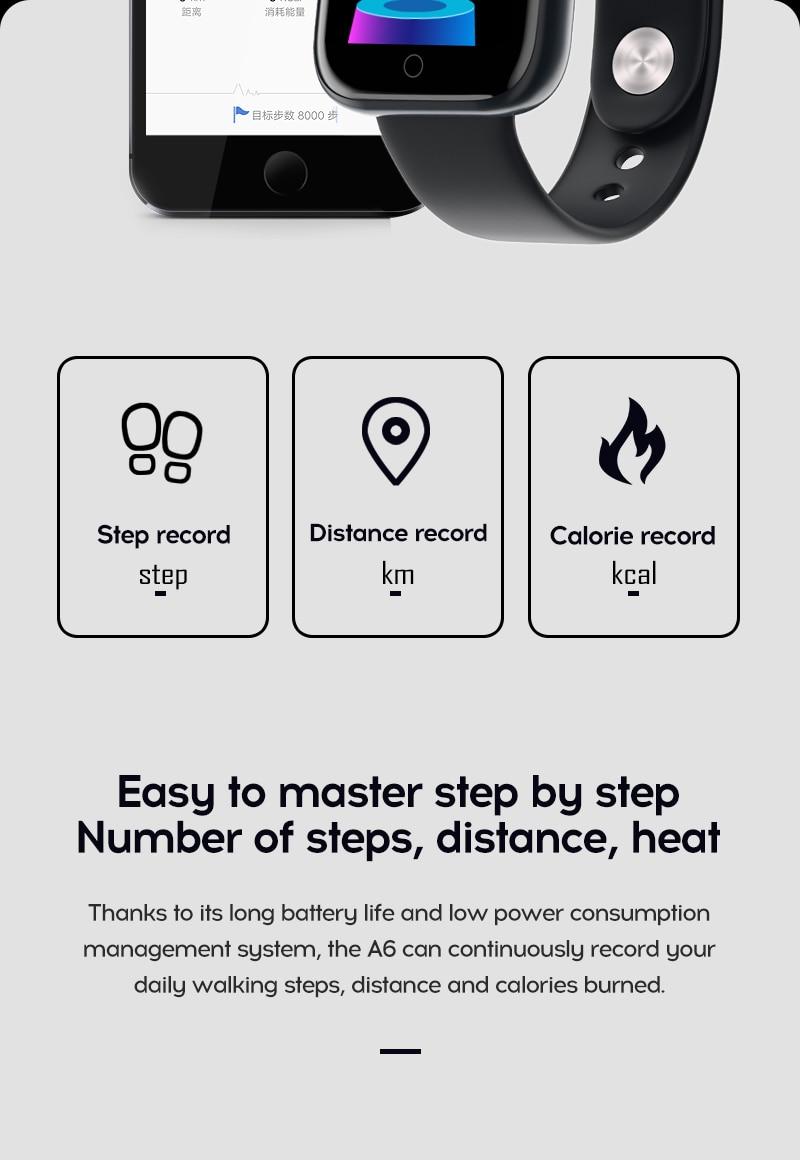 H595f0b553034416b997093e88bd0837bm Smart Watch Blood Pressure Smartwatch Tracker Heart Rate Fitness