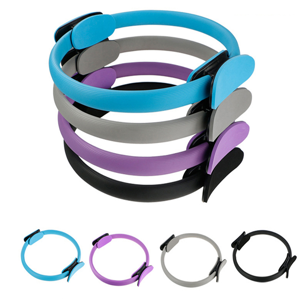 Yoga Pilates Ring Sports Magic Wrap Ring Women Fitness Kinetic Resistance Circle Gym Workout Pilates Accessories Body Slim