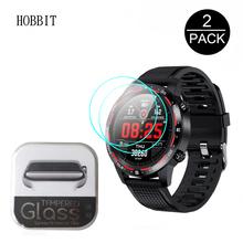2 sztuk 2 5D szkło hartowane dla Microwear L7 L9 L11 L12 L13 L15 L16 inteligentny zegarek HD wyczyść wodoodporna odporna na zarysowania straży szkła tanie tanio HOBBIT smart watch For Microwear L7 L9 For Microwear L11 L12 L13 L15 L16 Smart Watch Japan Tempered Glass 0 3MM Anti-fingerprint Anti-Scratch