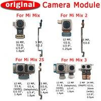 Original Vorne Hinten Zurück Kamera Für Xiaomi Mi Mix 2 2s 3 Mix2 Mix2s Mix3 Wichtigsten Gerichtete Kamera Modul flex Ersatz Ersatzteile