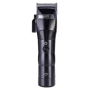 Image 1 - Vgr V 011 máquina de cortar cabelo elétrico carregamento barbeador aparador cabelo máquina corte plugue da ue
