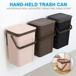 Ścienny kosz na śmieci do czyszczenia ściana kuchenna zamontowany kosz na śmieci kosz na śmieci kosz na śmieci kosz na śmieci P666 w Kosze na śmieci od Dom i ogród na