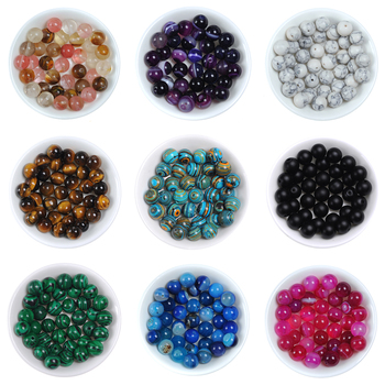 Natural Gem Loose Stone Beads  1