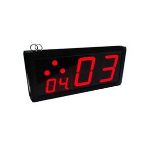 Image 4 - 1 дисплей 15 кнопок звонок 1 наручный пейджер журнальный столик Беспроводная система кнопок вызова