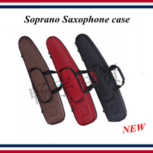 Saxophone accessories - saxophone case - Bb Soprano Saxophone bag , portable backpack Straight pipe - saxophone parts цена