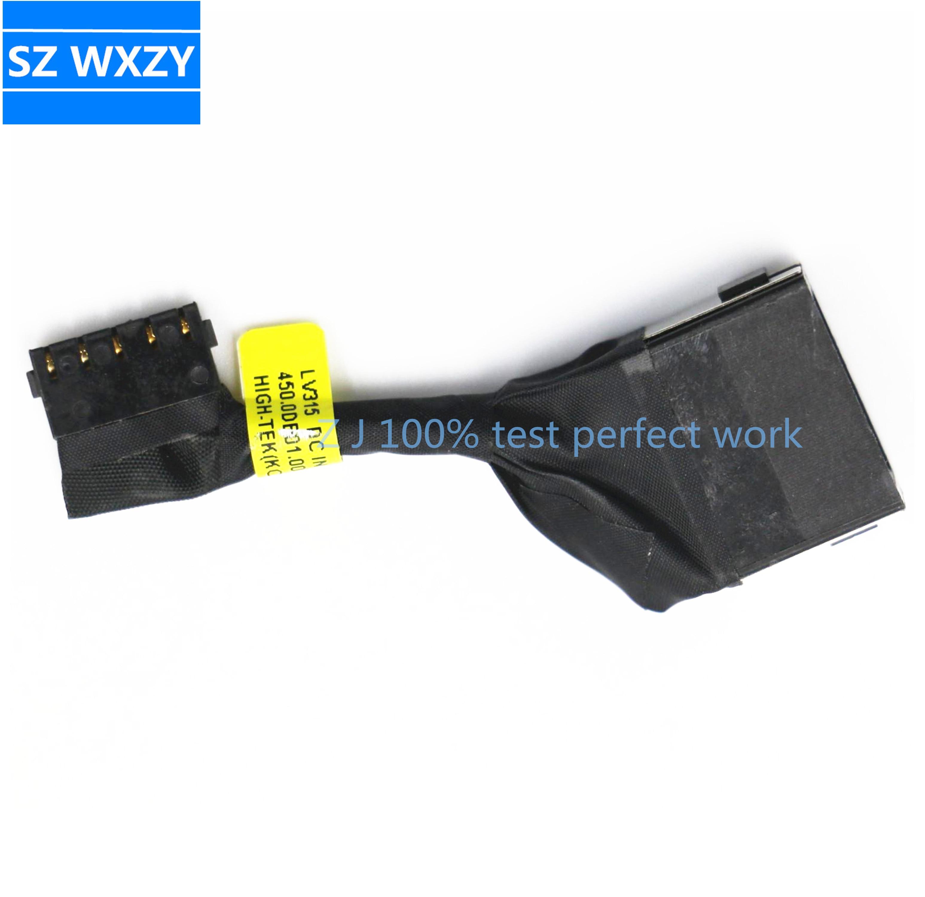 Для Lenovo V130-15IGM V130-15IKB V330-15ISK V330-15IKB Разъем питания постоянного тока Разъем зарядный кабель 450.0DB01.0011 450.0DB01.0001