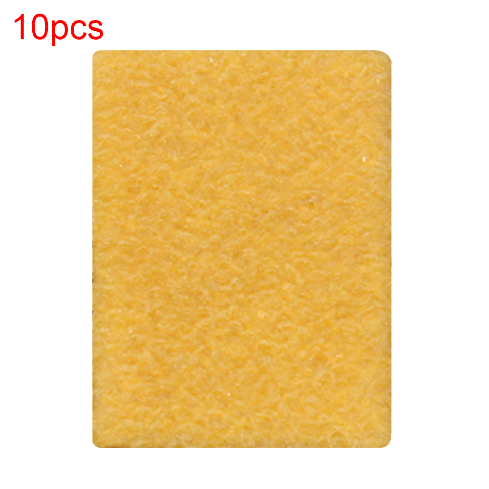 10pcs Griptape Eraser Easy Apply Cleaning Sponge Sandpaper Cleaner Reusable Portable Accessories High Performance Long Board