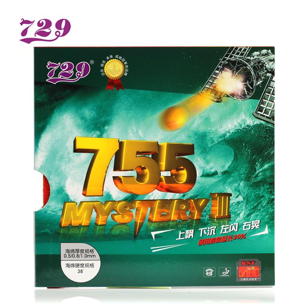 Original RITC 729 Friendship 755 Long Pimples Table Tennis( Ping Pong) Rubber With Sponge