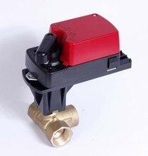 Enlace de producto personalizado 3 vías DN25 0 10V AC220V