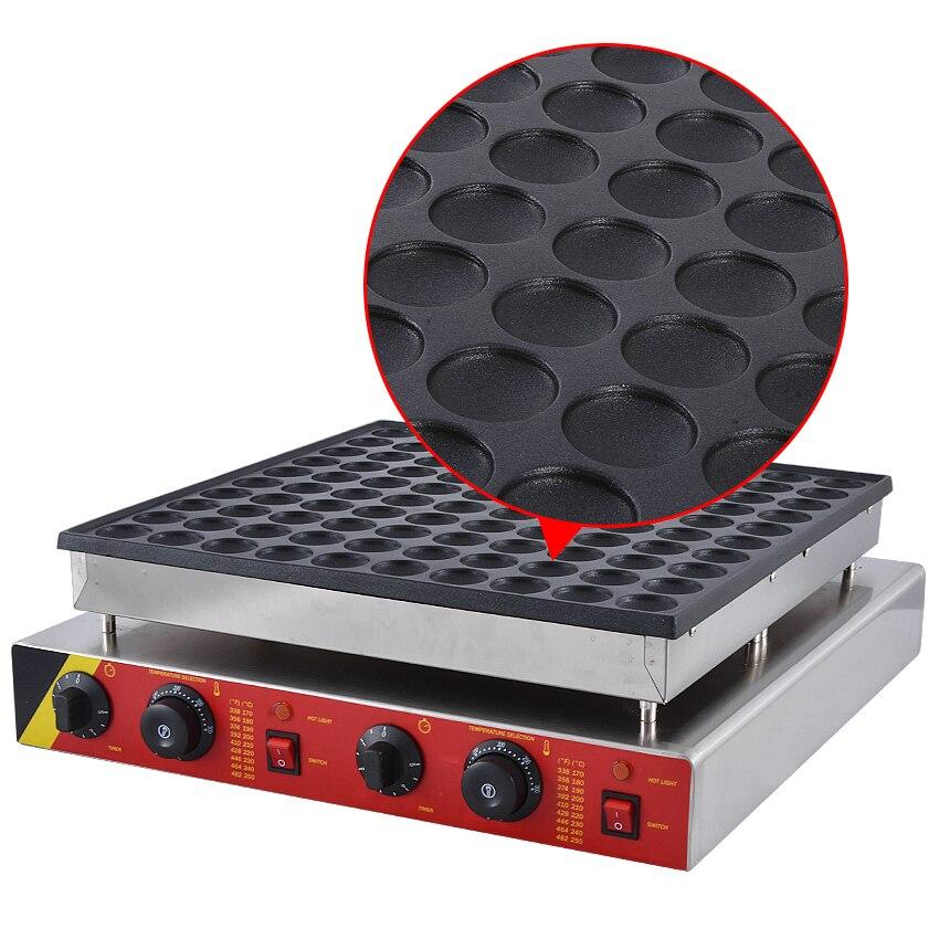 Commercial Pancake Maker Non-stick Maker  Mini Waffle Baker Machine 1PC NP-545 110V/ 220V 3200W,Waffle Size 45 * 45 * 10mm 7