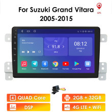 Car-Head-Unit Gps Android Grand Vitara Suzuki Multimedia Navigation Video-Player