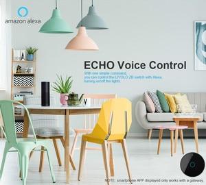 Image 3 - Livolo App Touch Control Zigbee Wifi Smart Touch Schakelaar, Smart Home Automation Draadloze Echo, Alexa, google Home Control