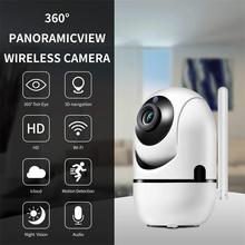 Home Wifi IP Camera 720P Baby Monitor Mini Wireless IP Camera Smart Auto Tracking Home Security Surveillance CCTV Network Camera wifi ip camera 720p mini cube onvif 2 4 wireless network camera smart home security system