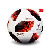 Official Size 5 Football Ball PU Granule Slip resistant Seamless Soccer Ball Goal Team Match Football Training Balls