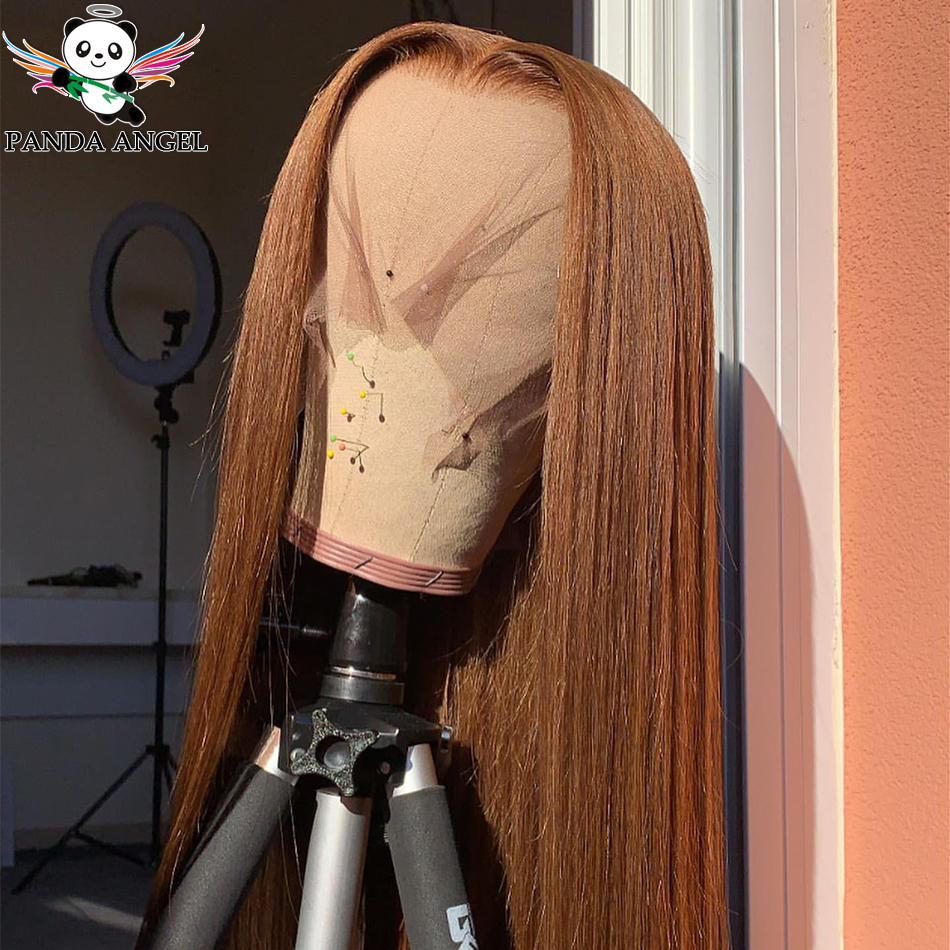 #30 Ginger 99J Burgundy Lace Front Wig Red Wig Brazilian Straight Lace Front Human Hair Wigs Remy Transparent Lace Colored Wigs