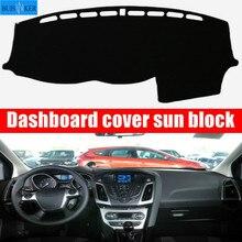Car Dashboard Cover Dash Mat Dash mat Dash Board Cover Pad Sun Shade For Ford Focus 3 MK3 2012 2013 2014 2015 2016 2017 2018