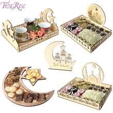 Pendentif en bois pour décor Eid Mubarak, décor islamique pour Ramadan Kareem, décor de fête musulmane, cadeaux Eid Al Adha