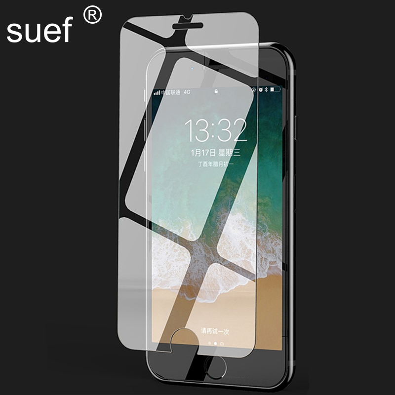 10 PCS/Lot HD Tempered Glass Film For iPhone 11 Pro Max 7 8 Plus 6 6s Plus X Xs Max Xr Screen Protector Film Full Coverage