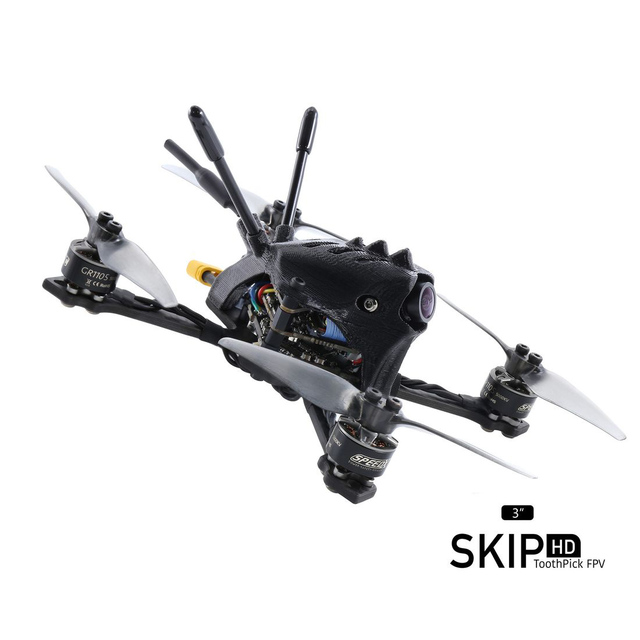 Geprc SKIP HD 3 118mm F4 3 4S 3 Inch w/ Caddx Baby Turtle V2 1080P Camera GEP 12A F4 Flight Controller FPV Racing Drone BNF
