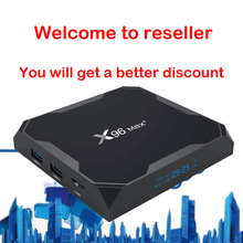 Smart TV BOX support panel to control for Reseller managemen