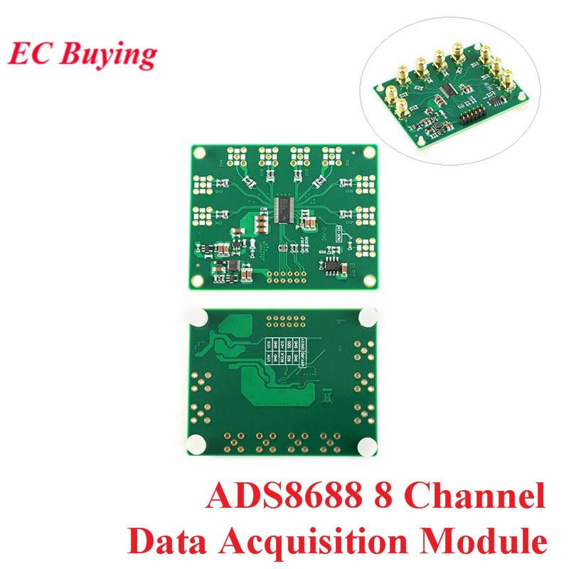 Module d'acquisition de données SAR/ADC 8 canaux ADS8688 16Bit/500Ksps entrée simple/bipolaire 8 canaux