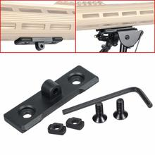 2.33 inches Tactical Keymod M-LOK Bipod Mount Handguard Adapter AR15 Rifle Accessory Picatinny Rail for Hunting Gun Accessories tactical 4 5 7 9 13 slots 21mm keymod picatinny rail keymod handguard ar15 rifle scope mount base rail hunting gun accessories